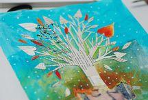 Art journal tutorials