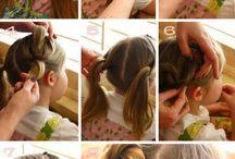 girl's hairs