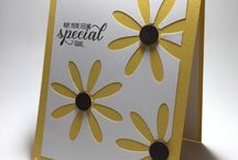Stampin up daisy punch