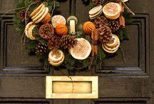 vianočné dekorácie.