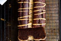 cake, cake and cookies