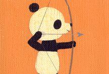 panda / by Pat Leong