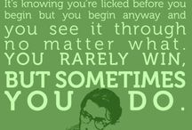 Words of Wisdom from To Kill a Mockingbird / Our favorite quotes from one of our favorite books!