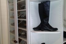 Cottage style Closets / Custom closets make Lakeside cottage living easier with organized storage spaces.