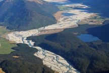 Flying over Glenorchy / Scenic Flights over Glenorchy New Zealand