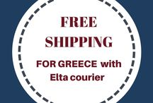 FREE SHIPPING for Greece !