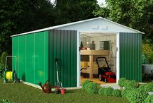 Metal Garden Sheds / Discover our range of rust- and corrosion-free metal garden sheds!