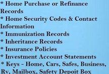 Info / Inligting / Handige inligting Handy info