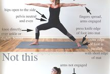 Yoga . placement, alignment and corrections