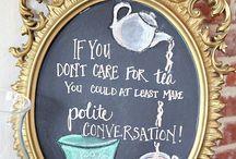 Tea  Party Idea