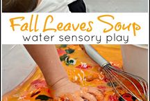 Fall play / Fall fun for preschoolers, toddlers and even big kids!