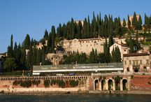 Verona Italy: The Architect's Tour / Professor Mauro Albirgi, self-described tour guide of  Queen Elizabeth II, led a group of architects studying sustainable design in stone on a tour of the city of Verona.