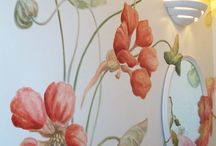 Murals and handpainted elements / by Nancy Jones