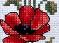 flower cross stich