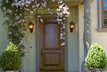 front door planting
