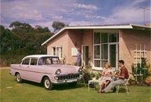 Mid - century  (1950s/1960s/1970s) Australian architecture and housing