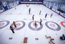 Curling ! / Glace ,pierres ,balai !