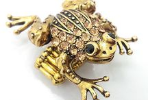Unusual Dress Rings / Unusual rings - Animal, Sea life and many others / by Shabby Apple Jewellery