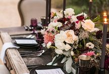 Outdoor tablescaping