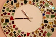reloj mosaico