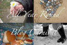 All Year Round / The All Year Round Blog Carnival is a quarterly link collection of spring, summer, autumn and winter posts sharing seasonal thoughts, pictures, activities, crafts, recipes, books, art, nature study, projects, celebrations and more. http://sunnydaytodaymama.blogspot.co.uk / by Sunny Days