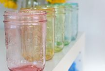 Mason jars / by Irene Quinn