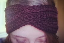 Hand Knit Accessories / Handmade knitted goods, scarves, hats, mittens, etc.