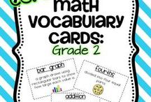 Second Grade Math / by Christine D'Arcy