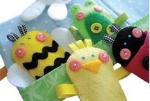 Puppets / Finger and hand puppet patterns and ideas