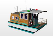 Small Houseboat Ideas / Small houseboat ideas, trailer-able houseboat designs :-) / by Joseph Delgado Sr.