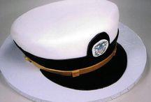 Navy Cakes / cake ideas / by Stephanie