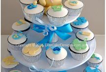 Baby shower cupcakes / #baby #shower #ideas #pretty #born