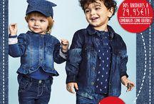 Fantásticos tejanos / Fantásticos tejanos para niños y niñas de 1 a 14 años. Encuéntralos en dos tonalidades y combínalos como tú quieras