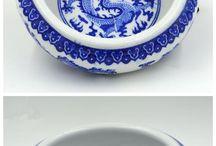 Porcelain Brush-washer