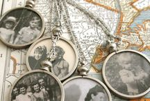 DIY old photographs display