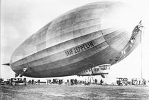 Zeppelin, dirigibles  / Zeppelin, dirigibles, aero: vintage photo & cards