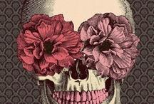 Skulls Make Me Happy / Them bones. We are all the same.