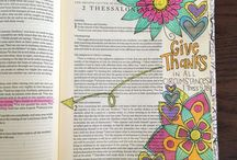 2 Thessalonians Bible Journaling