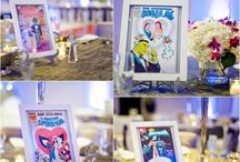 Wedding theme: Comic book heroes