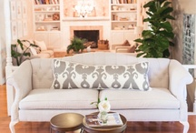 HOME ~ Living Room / Beautiful, stylish Living Rooms.  / by Bentley Affendikis, REALTOR®