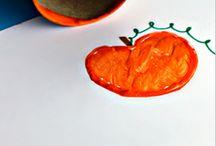Kids Crafts / Crafts for kids to make for Halloween.