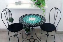 Mosaiquismo mesas