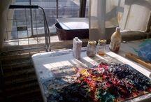 Joy Garnett: From the Studio: projects / by Joy Garnett