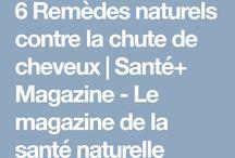 6 Remèdes naturels contre la chute de cheveux | Santé+ Magazine - Le magazine de la santé naturelle