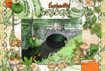 Leprechaun Alley Digital Scrapbooking Collection by Kathryn Estry