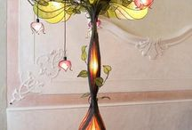 You light up my life / A collection of lighting items that inspire me, many from the past. / by Artstamper1