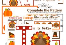 Thanksgiving Preschool Week