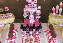 Cowgirl Party Ideas / Cowgirl party ideas, cowgirl birthday ideas, cowgirl ideas, girl party theme, western party theme, rustic party theme, pink cowgirl party, kids party ideas / by Pretty My Party - Cristy Mishkula