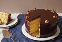 Chocolate cake /mirror glaze