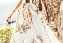 Gold & Chic Dress